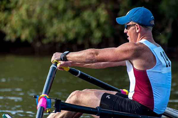 a rowing master